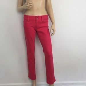 Lilly Pulitzer Worth Straight Jeans in Pink 2